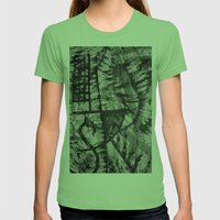 My Ink op 2 Womens Fitted Tee Grass SMALL