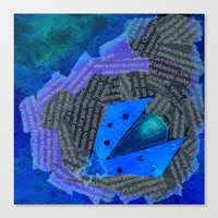 Canvas Print featuring Ladybird Origami 4 by eefak