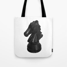 Knight Chess Piece Tote Bag