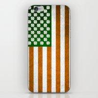 Irish American 015 iPhone & iPod Skin