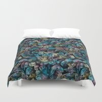 Crystal Points  Duvet Cover