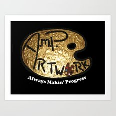 A.M.P. Artwork  Art Print