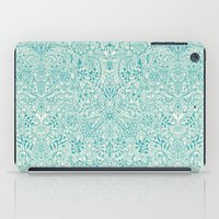 Detailed Floral Pattern … iPad Case