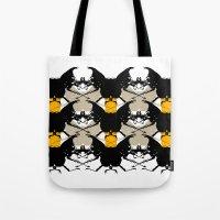Scarabs Yellow Beige Tote Bag