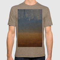 Window In The Airplane Mens Fitted Tee Tri-Coffee SMALL