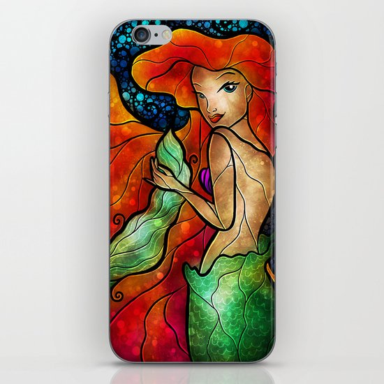 Daughter of Triton iPhone & iPod Skin