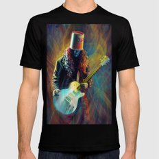 Buckethead Mens Fitted Tee Black SMALL