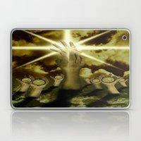 The Hand Of Light Laptop & iPad Skin