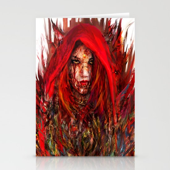 Red Riding Hood Stationery Card