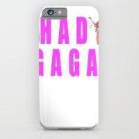 iPhone & iPod Case featuring Sip champagne liked Shady Ga Ga by RickyRicardo787
