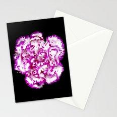 8BIT flower Stationery Cards