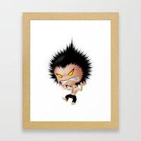 Mr. Zhong: Mad Framed Art Print