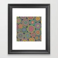 Boho Patchwork-Eden Colo… Framed Art Print