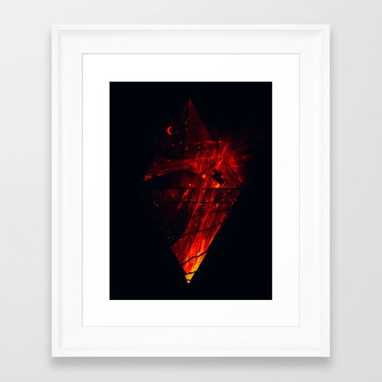 The Firestarter Framed Art Print
