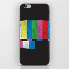 Test Pattern iPhone & iPod Skin