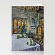 Candles At Christmas Stationery Cards