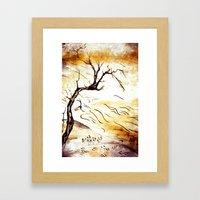 landscape Blossom Framed Art Print