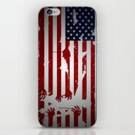 iPhone & iPod Skin featuring Walking Dead by Molnár Roland