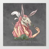 Long Live The Dead - Rab… Canvas Print