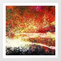 Hollowfield Four Months Art Print