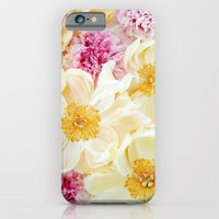 Peony Cascade iPhone 6 Slim Case