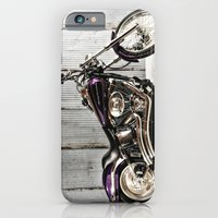 Purple Harley Softail iPhone 6 Slim Case