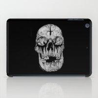 Black blooded iPad Case