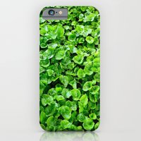 iPhone & iPod Case featuring Greenery  by rachellam