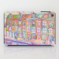 Wandering Amsterdam - Colored Pencil iPad Case