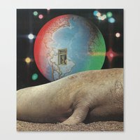 Kaleidoscope World Canvas Print