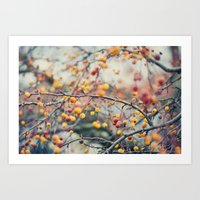 Autumn Poison Art Print