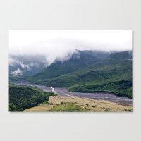 Mount St. Helen's River Canvas Print