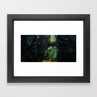 Dark Forest (VACANCY zine) Framed Art Print