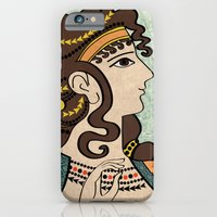 iPhone & iPod Case featuring Ladies of the court by EduardoTellez