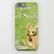 Bunny Santa Card iPhone 6s Slim Case