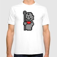 Tanooki Stone Suit Mens Fitted Tee White SMALL