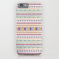 iPhone & iPod Case featuring NATIVE FIESTA by Nika