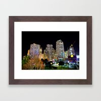 Into The Night Framed Art Print
