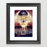 Distant Drums - Apocalypse, End of the World, Chaos Framed Art Print