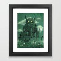 Age Of The Giants  Framed Art Print