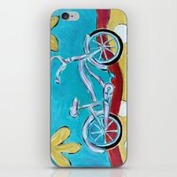 Let's Go for a Ride! iPhone & iPod Skin