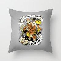 Urban Spaceman? Throw Pillow