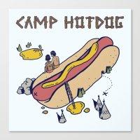 CAMP Canvas Print