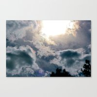 Out and Into the Blue Canvas Print