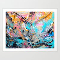 You And I // Washed Out Art Print