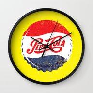 Vintage Pepsi Wall Clock