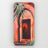 Moroccan Door, Morocco, boho art, Mediterranean landscape, doorways, buildings iPhone & iPod Skin