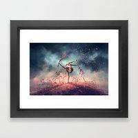VIRGO from the Dancing Zodiac Framed Art Print