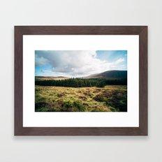 Wicklow Pass Framed Art Print