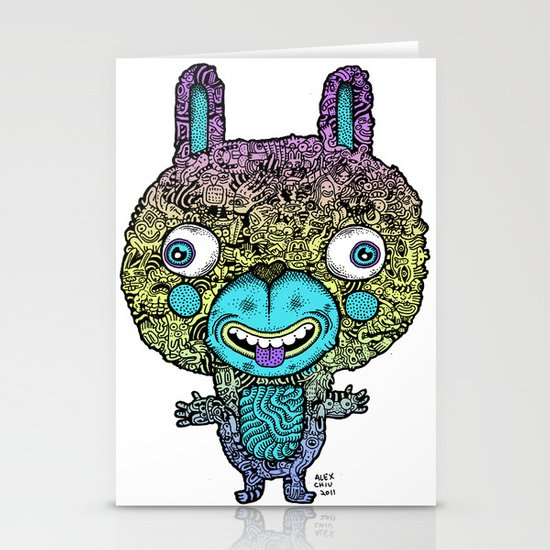 Bunny Stationery Card